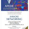 APEDE – Jueves 18 / 6-9pm  / Karaoke Networking