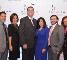 Coctel de lanzamiento de la nueva imagen corporativa de Rach Law (Ramos Chue & Asociados)