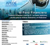III Foro Financiero 27 de Octubre 2015