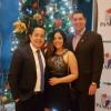 Arturo Enrique Miranda Castillo, reconocido financista, en cóctel de fin de año de AMCHAM, 6 de Diciembre de 2017.