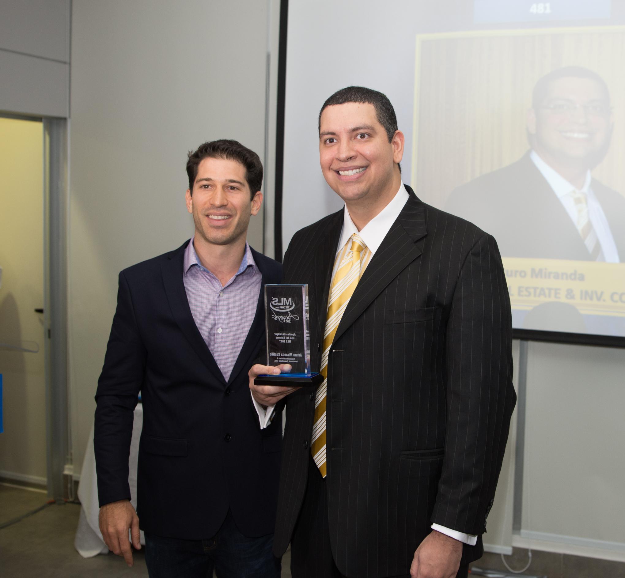 David Dabah y Arturo Miranda Castillo