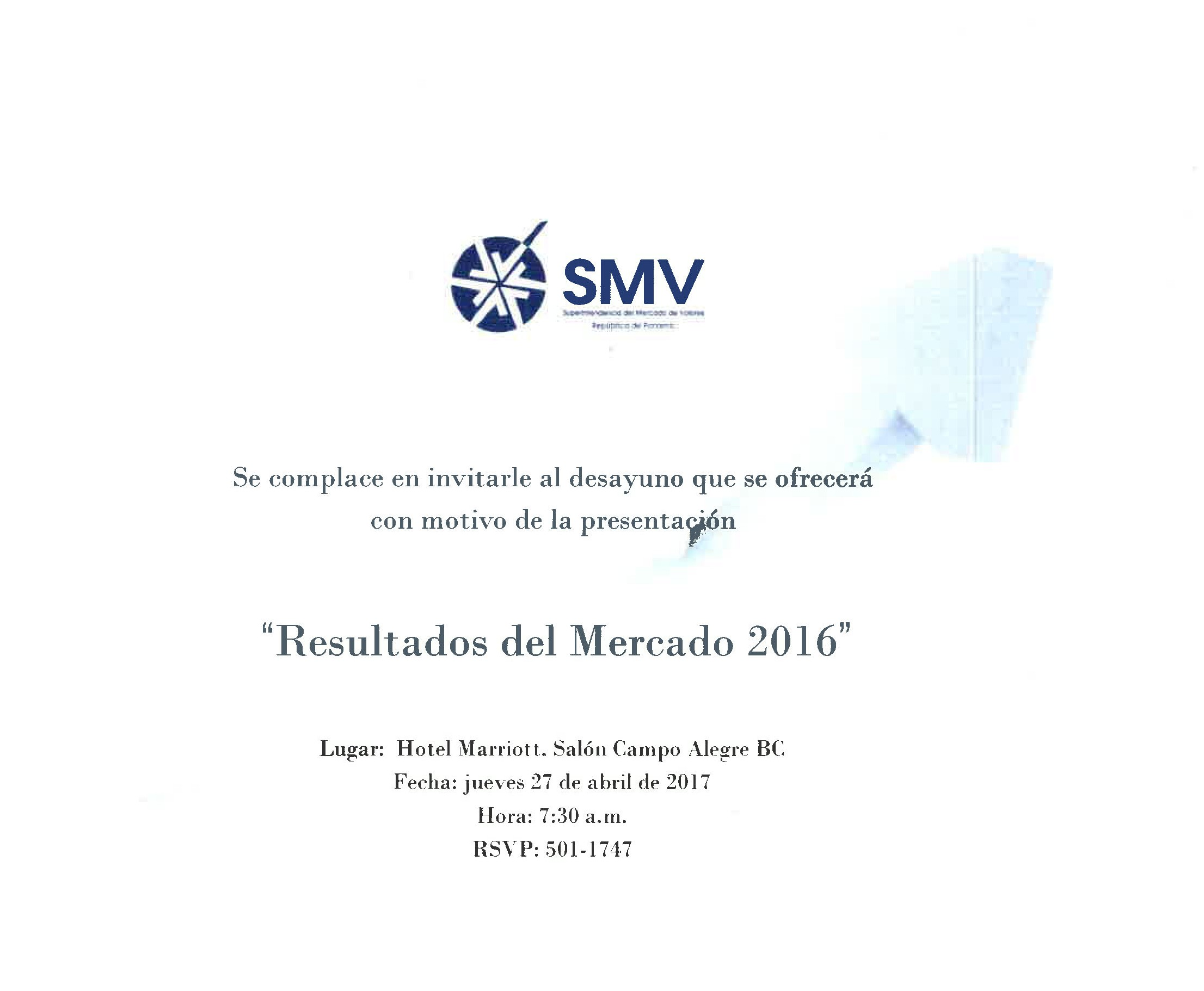 Invitacion SMV